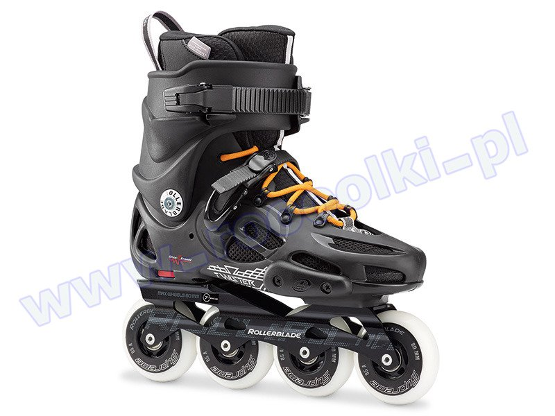 Rolki Rollerblade Twister 80 Black / Orange 2017