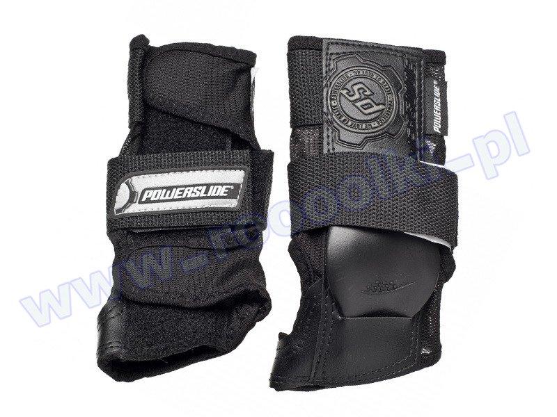 Ochraniacze nadgarstków Powerslide Standard Wristguard Black