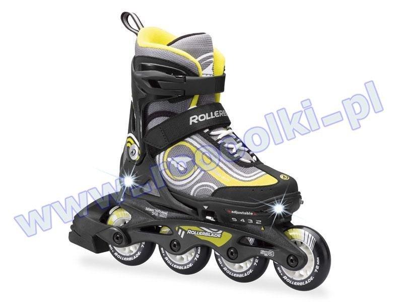 Rolki Rollerblade Spitfire Flash Black / Yellow 2017