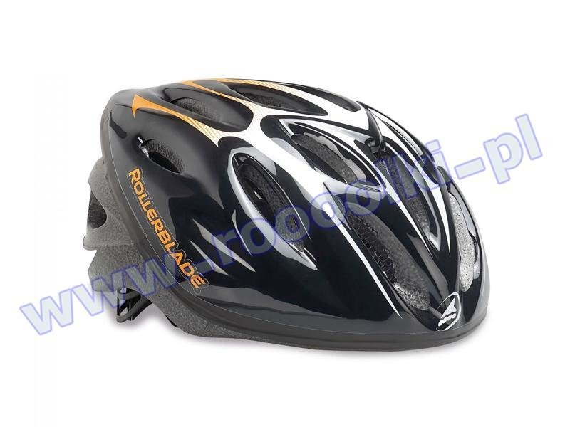 Kask Rollerblade Workout Helmet Black Orange 2016