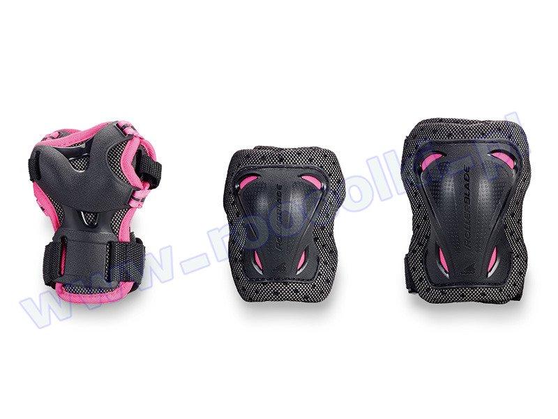Zestaw ochraniaczy Rollerblade Bladegear Junior 3 Pack Pink / Black 2017