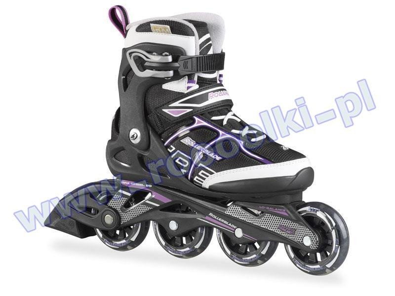 Rolki Rollerblade Sirio Comp W Black Purple 2017