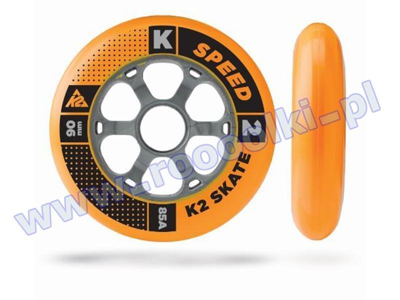Zestaw 8 kółka K2 Speed Formula Orange 90mm/85A + 16 łożysk ILQ9 2015