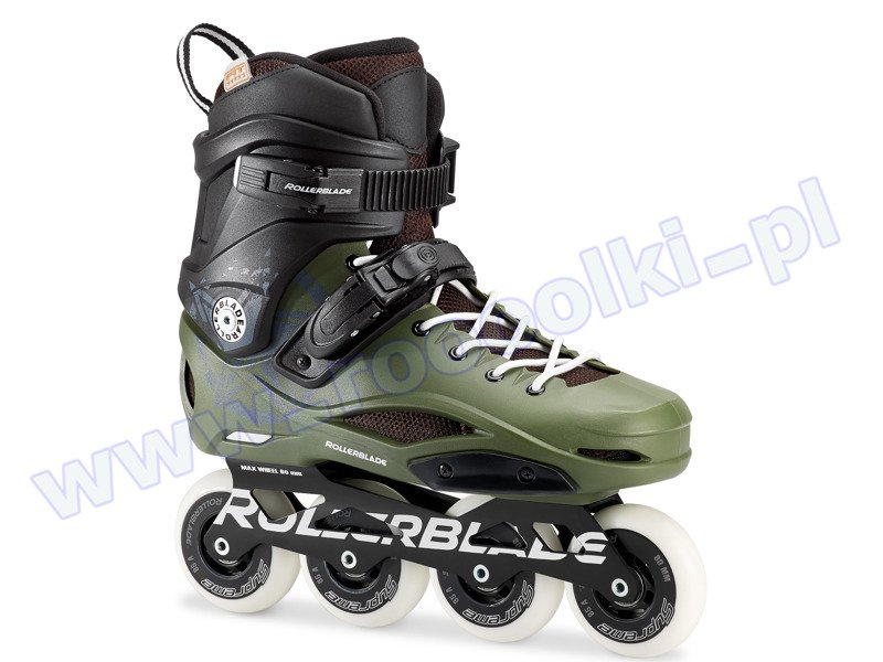 Rolki Rollerblade RB 80 Pro Black / Army Green 2017