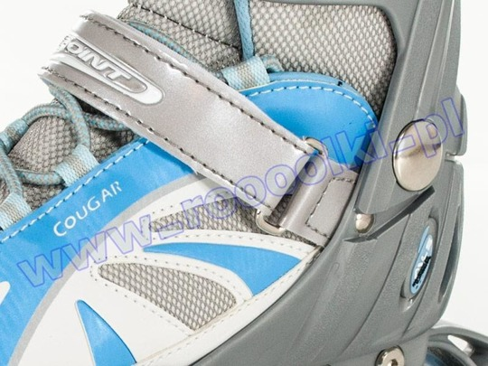 Rolki Cougar Explorer ALU Silver/Blue 2013