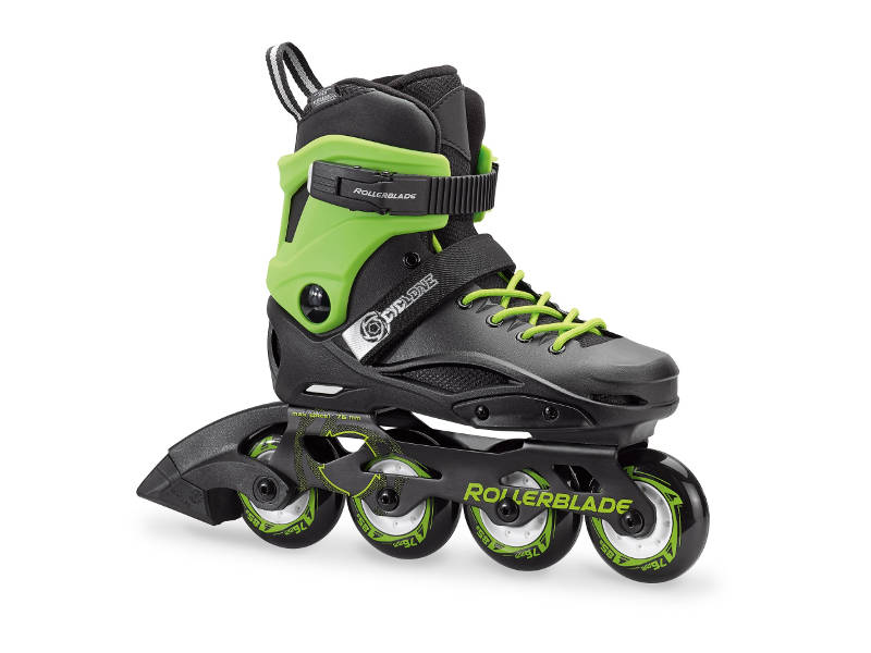 Rolki Rollerblade CYCLONE Black / Acid Green 2018