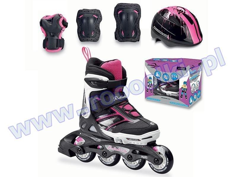 Rolki Rollerblade Spitfire Cube Girl Black / Pink 2017