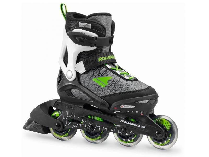 Rolki Rollerblade Combo Black / Green 2018