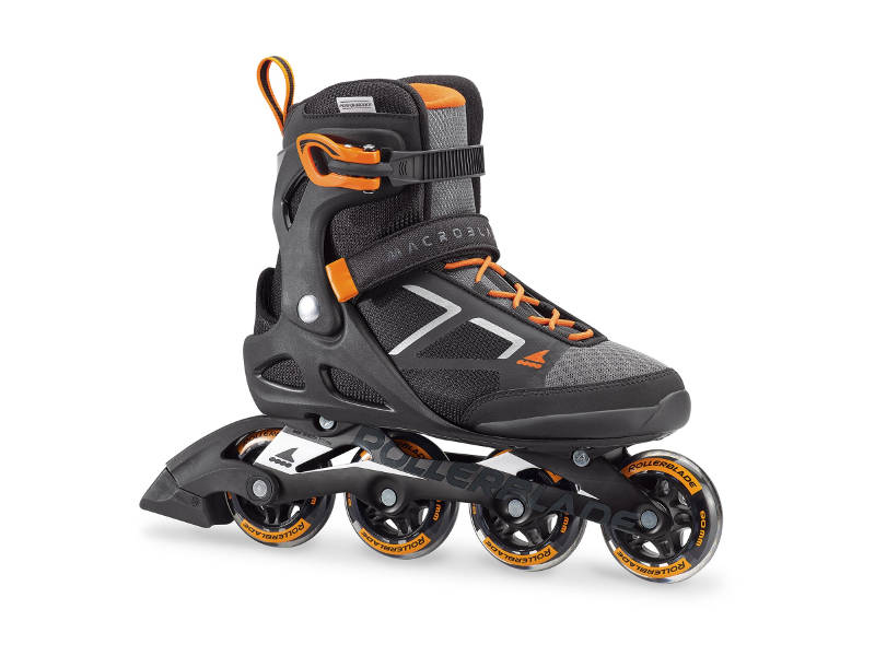 Rolki Rollerblade Macroblade 80 Black/Orange 2018