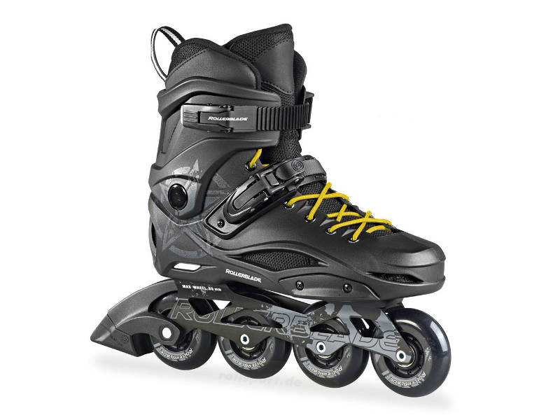 Rolki Rollerblade RB 80 Black / Yellow 2018