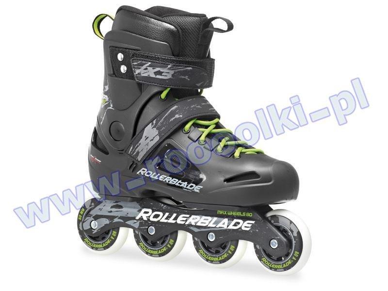 Rolki Rollerblade Fusion X3 Black / Green 2017