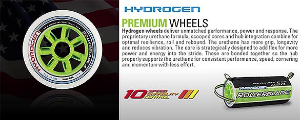 Najlepsze kółka Rollerblade Hydrogen