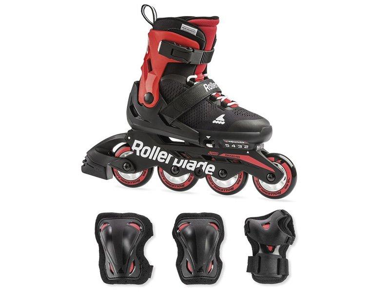Rolki Rollerblade Combo Black Red 2019 Rolki Rolki