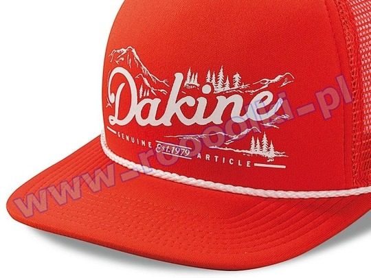 Czapka z daszkiem Dakine Mountain Trucker Orange 2015