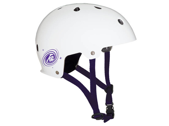 Kask K2 JR Varsity White Purple 2018