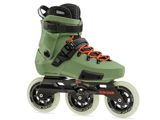 Rolki Rollerblade TWISTER EDGE EDITION #2 Olive Green / Orange 2019
